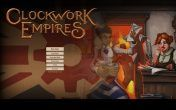 Clockwork Empires - Menu