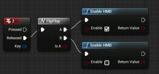 Enabledisable function for hmd in unreal engine gamerpet whenever you press the z key the game will turn onoff the hmd thats what the flipflop is going to do it will remember the last action it took malvernweather Image collections